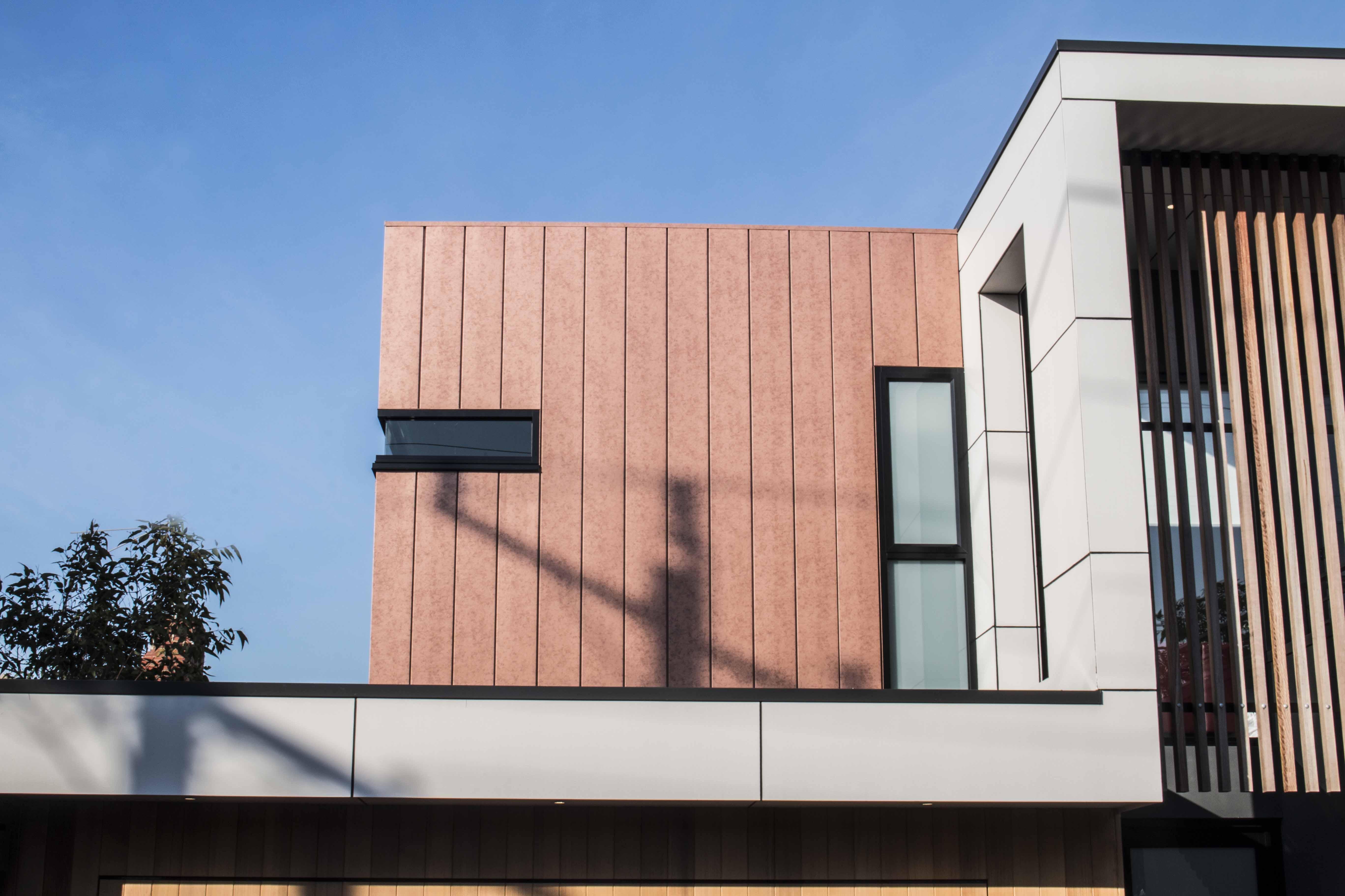 Vestis Copper in an interlocking profile