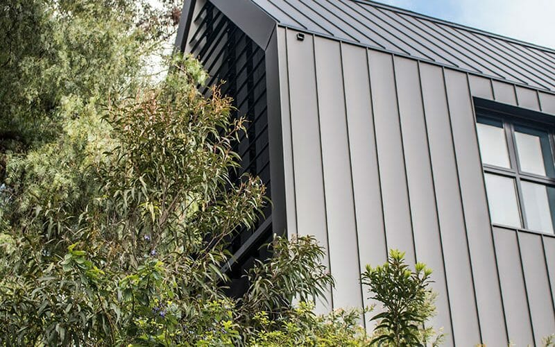 Black aluminium cladding on Scotch College, Melbourne
